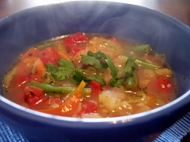 Garden vegetable soup recipe for Garden vegetable soup