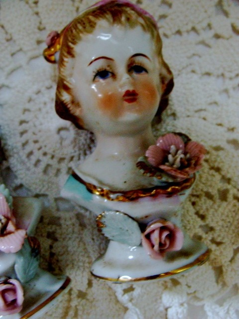 Antique German Salt and Pepper Shakers