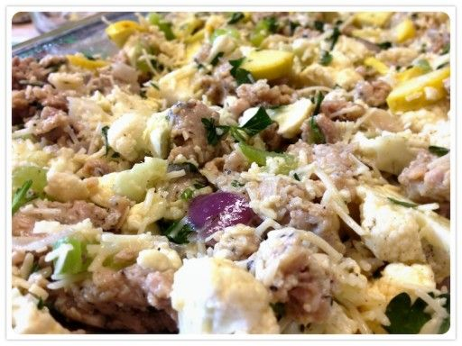 Sausage and Herb Stuffing - | Bariatric lifestyle | Pinterest