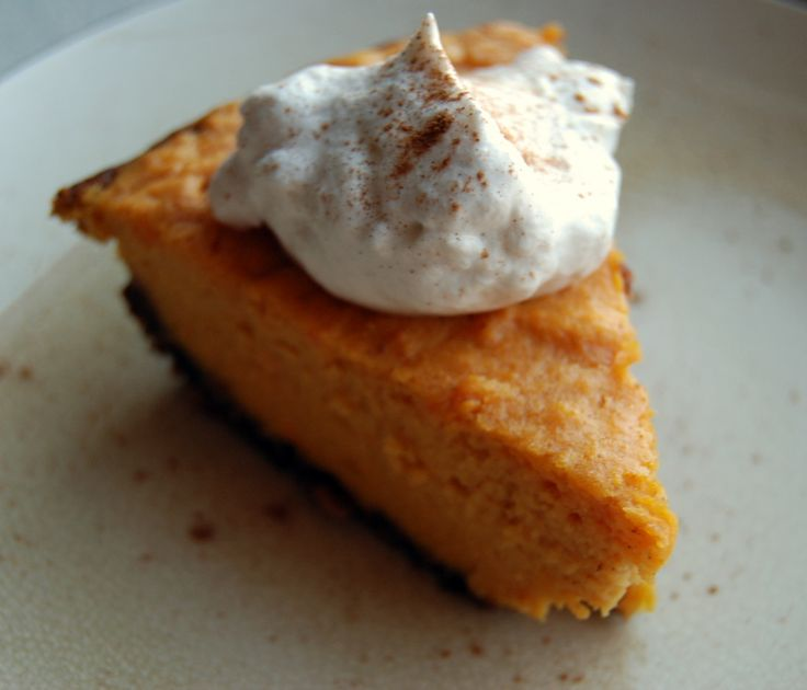 Sweet potato pie with gingersnap crust | Dolci | Pinterest