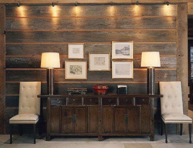 Barn board wall design pinterest for Interior wall board designs
