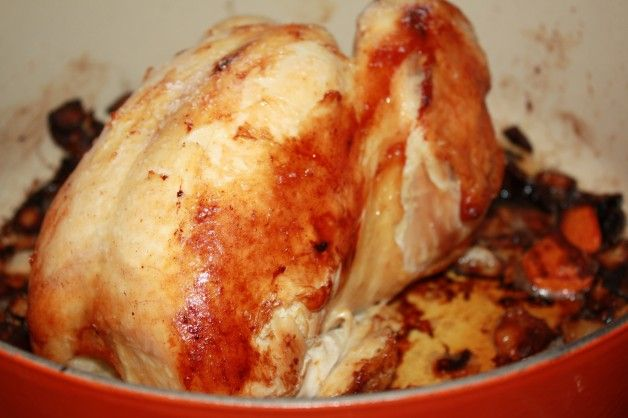 Julia Child's Roasted Chicken | tried and true recipes | Pinterest