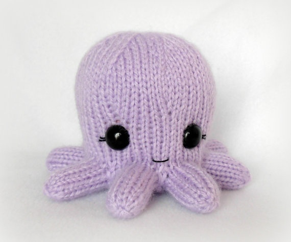 Baby Octopus Knit Toy knitting and other yarn stuff ...