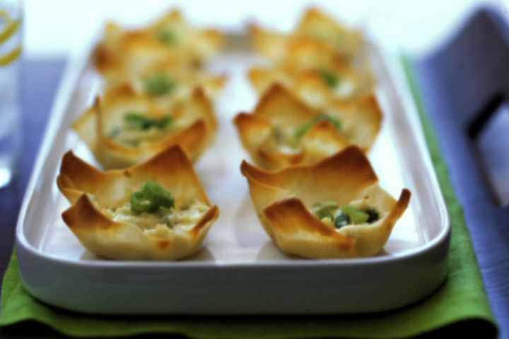 Baked Crab Rangoon Recipe | appetizers & dips | Pinterest