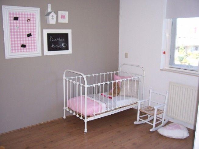 Brocante meisjes babykamer  creatief kinderen  Pinterest