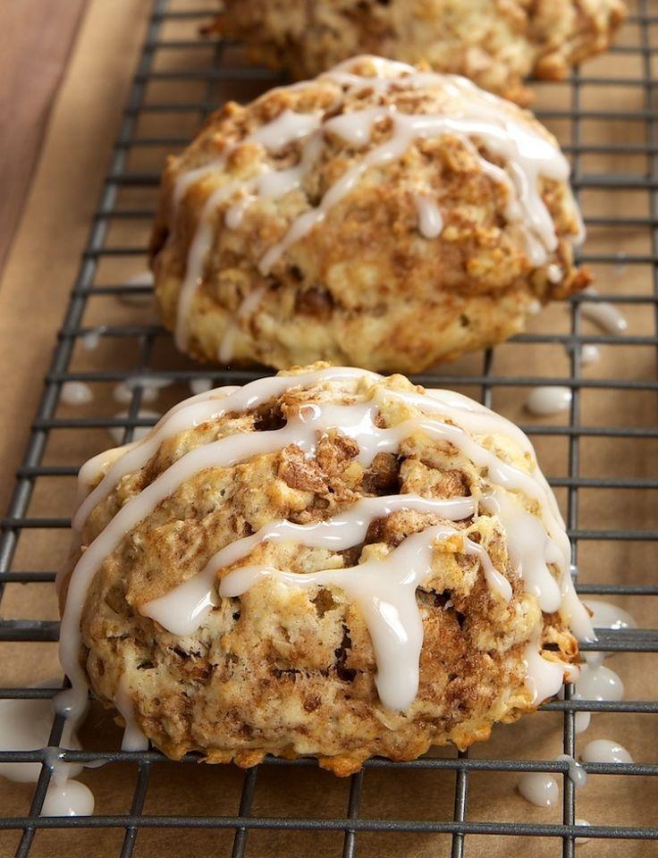 ... Cinnamon Bun Scones are a fabulous sweet, cinnamon-y treat. - Bake or