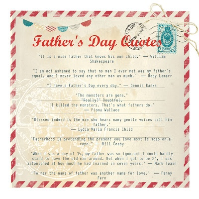 father's day quotations in english