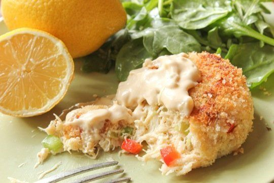 recipe crab cakes with easy rémoulade