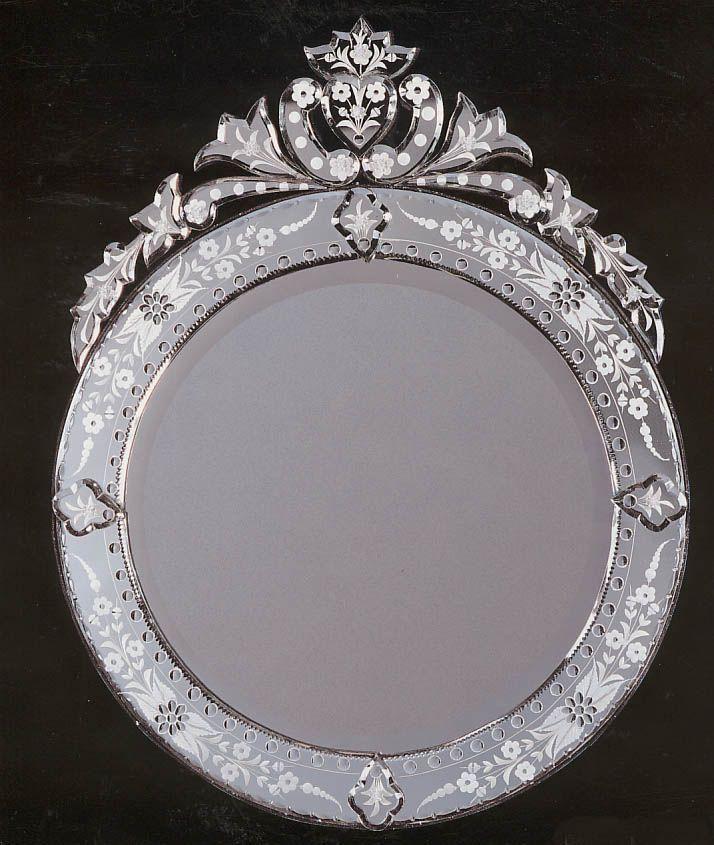 Small Round Venetian mirror   Mirrors   Pinterest