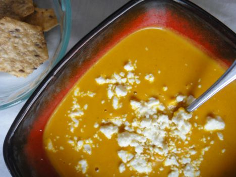 Pumpkin, Carrot and Curry Soup | Pumpkin, Squash and Sweet Potato Rec ...