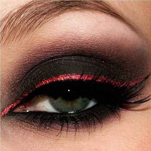 Black eye makeup tips