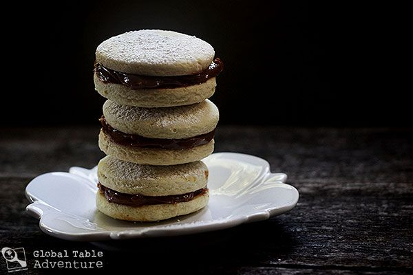 Dulce de Leche Stuffed Cookies | Alfajores | Recipe