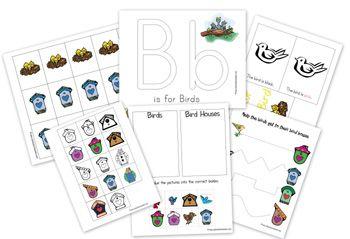 Bird Preschool Pack from 1+1+1=1