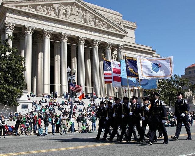 memorial day parades dc area
