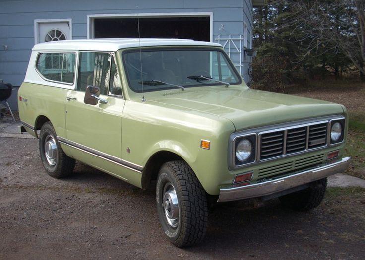 1976 International Harvester Scout | voom voom | Pinterest