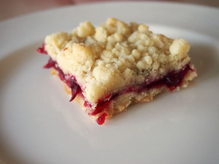 Cranberry Shortbread Bars Forget cranberry sauce and make these for # ...