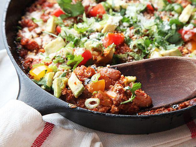 Spicy Chorizo and Pinto Bean Chili | Recipe