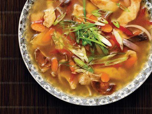 Chicken & Shiitake Mushroom Soup | Soups & Stews | Pinterest
