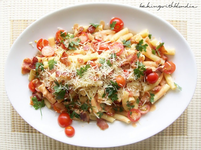 Baking with Blondie : BLT Pasta | Recipes-Main Course | Pinterest