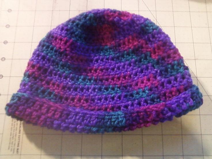 Crochet Baby Stocking Cap Pattern : Crochet: Stocking cap Crafts Accomplished Pinterest