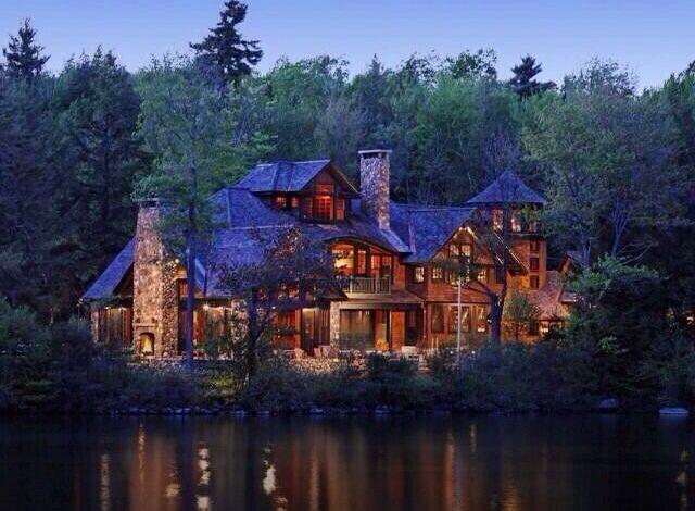 Beautiful lake house dream house pinterest for Beautiful dream house pictures