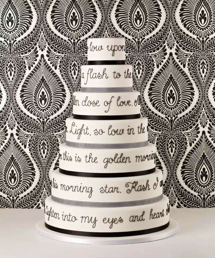 Poem Cake Poetry Beyond The Page Pinterest
