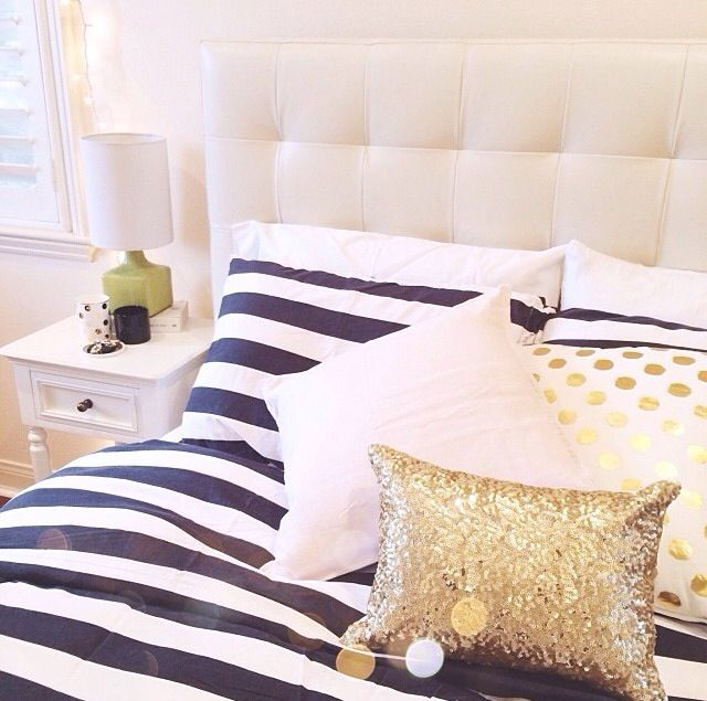 Black Gold And White Bedding Black Gold