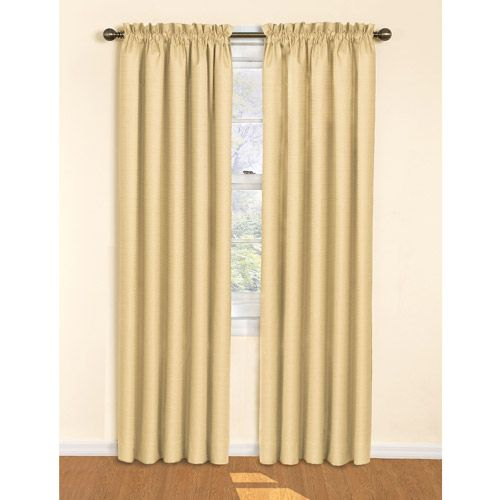 Plastic Shower Curtain Rod Eclipse Curtains Samara Crepe