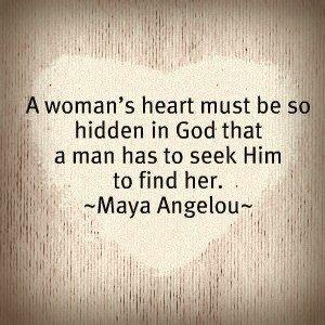 Maya Angelou a Woman's Heart