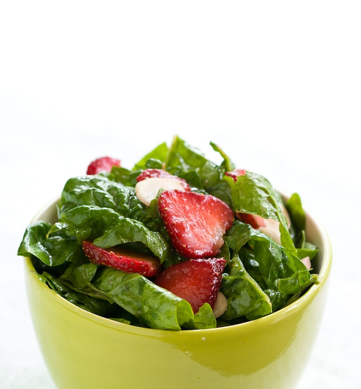 Strawberry & Spinach Salad | Favorite Recipes | Pinterest