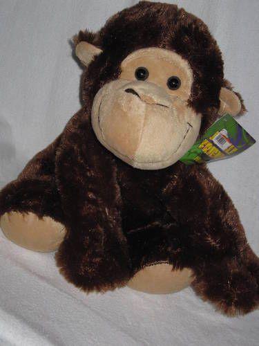 "Plush Monkey Brown Love Kelly Toy Jungle Friends 13"" NWT Stuffed ...: pinterest.com/pin/175288610469573880"