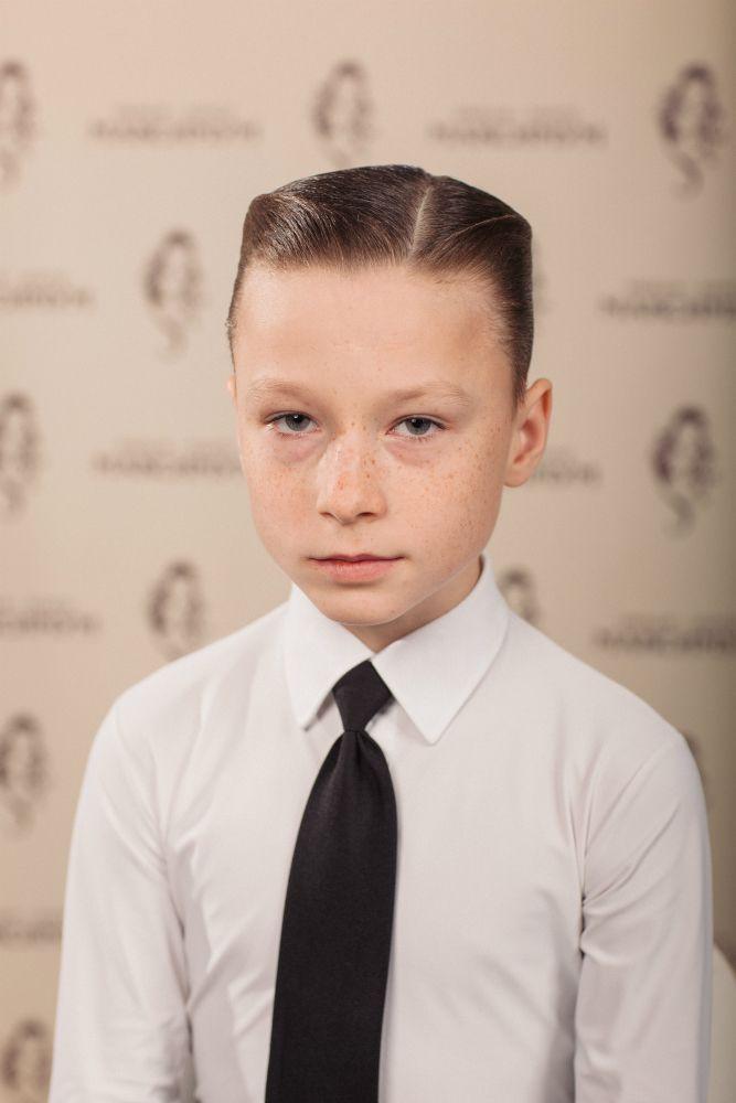 Причёска для мальчика бальные танцы