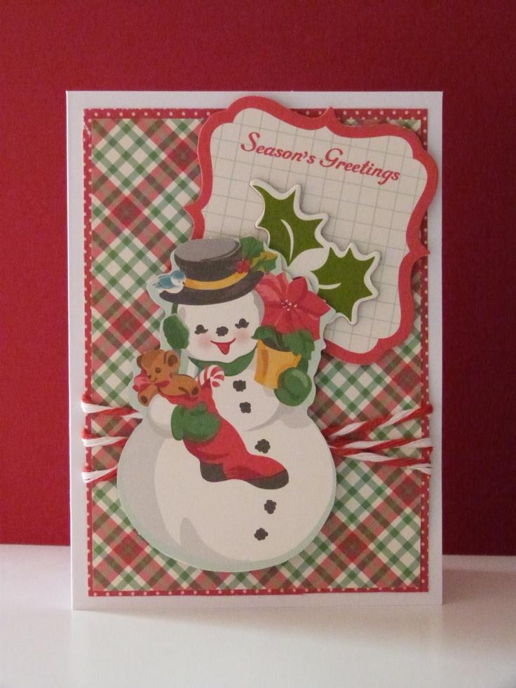Handmade christmas cards pinterest the for Handmade christmas cards pinterest