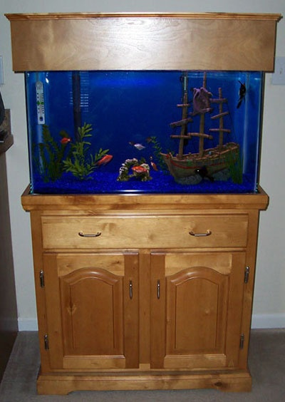 Fish Tank and Stand Crafts Pinterest