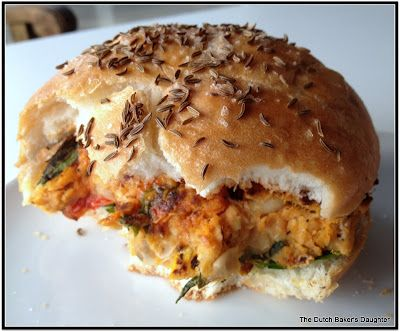 Sweet Potato Patty on a Kimmelweck Roll | Made it - Love it! | Pinter ...