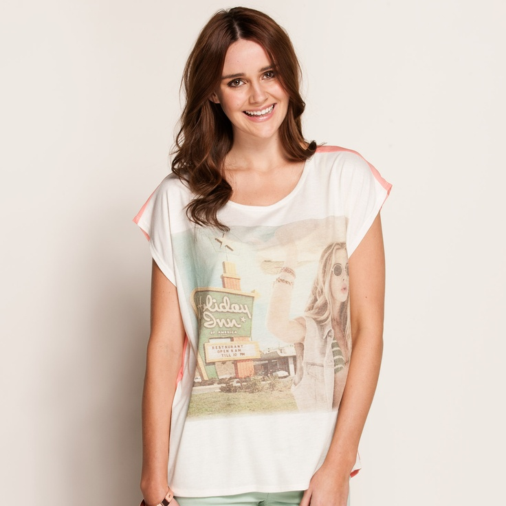 La Road Trip Tee from Dotti - $29.95 - Hell, I don't even know why.