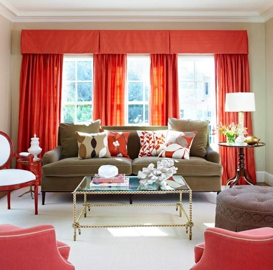 Bold Colors Living Rooms Pinterest