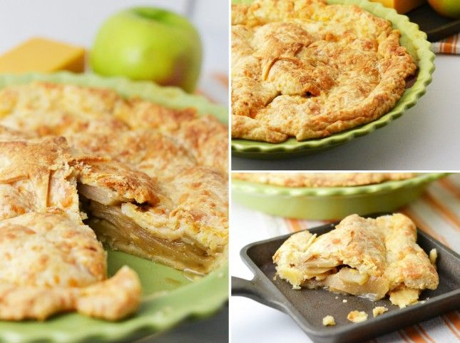 Apple Pie with a Cheddar Crust | Sweets | Pinterest