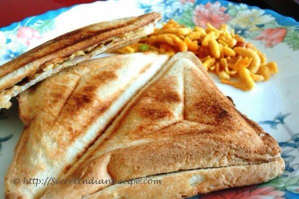 Indian Toastie Sandwich Recipe — Dishmaps