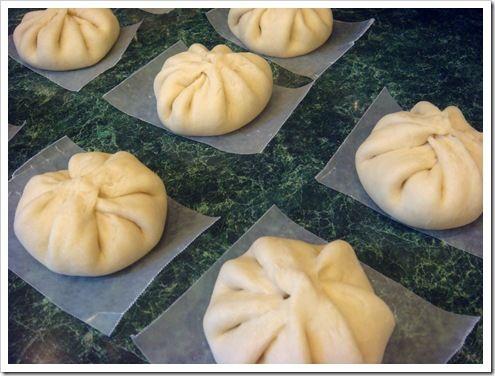 Japanese Nikuman: great recipe for the dough.