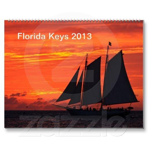 Florida Keys 2013 Wall Calendar
