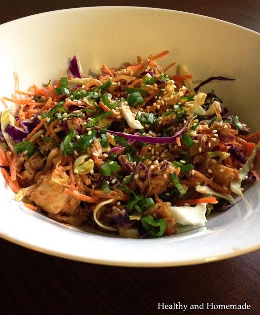 spicy peanut chicken bowl | When your tummy growls... | Pinterest