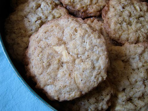Salted Oatmeal White Chocolate Cookies | Recipes to try - cookies, ca ...