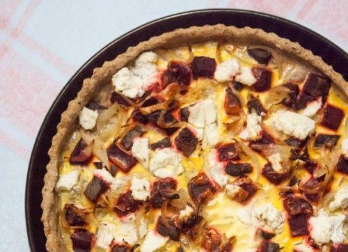beet-tart | Fromage | Pinterest