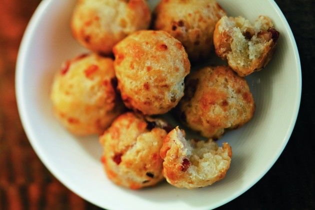 Michael Anthony's Bacon Cheddar Biscuits - The New York City chef ...