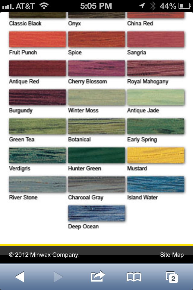Minwax Polyshades Color Chart 28 Images Minwax