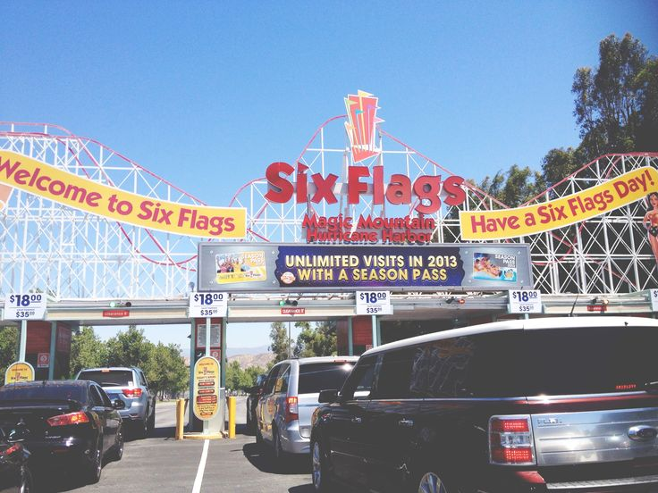 six flags magic mountain open days