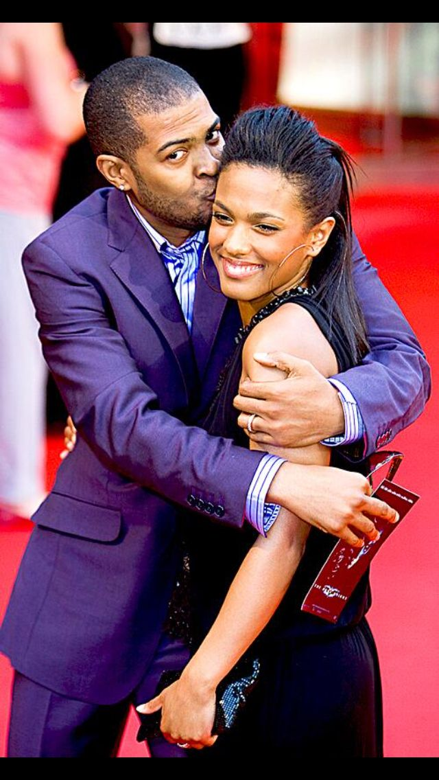 Freema Agyeman with cool, Husband Noel Clarke
