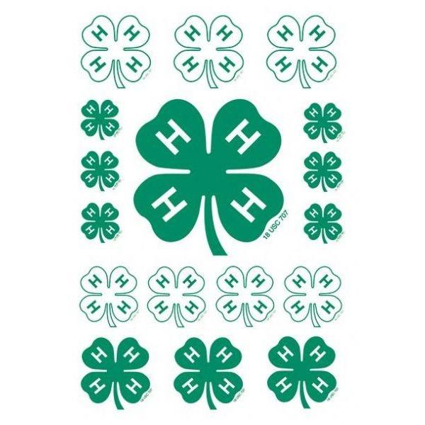 Clover stickers 4 h pinterest