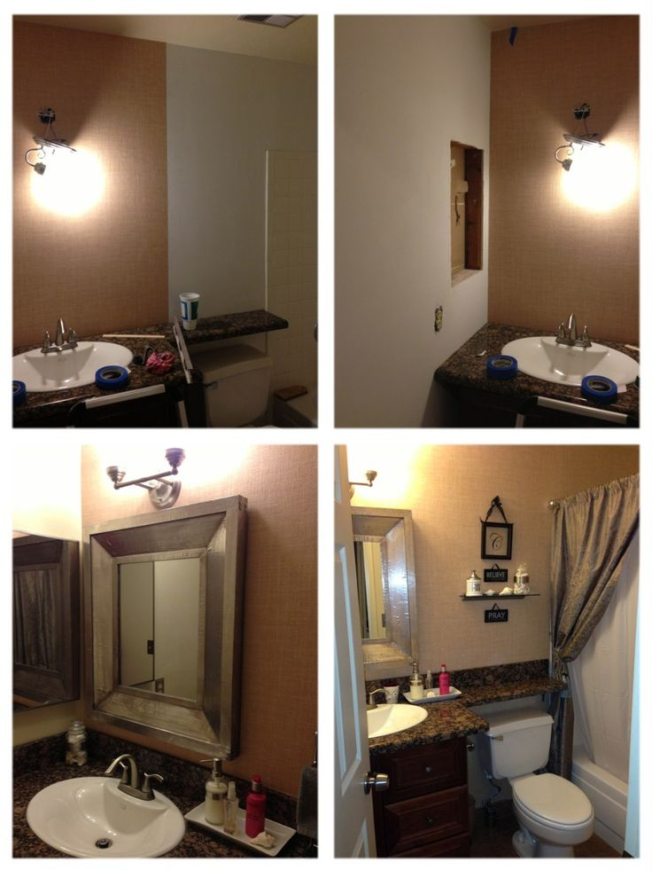 Diy bathroom remodel pinterest crafts for Bathroom improvements